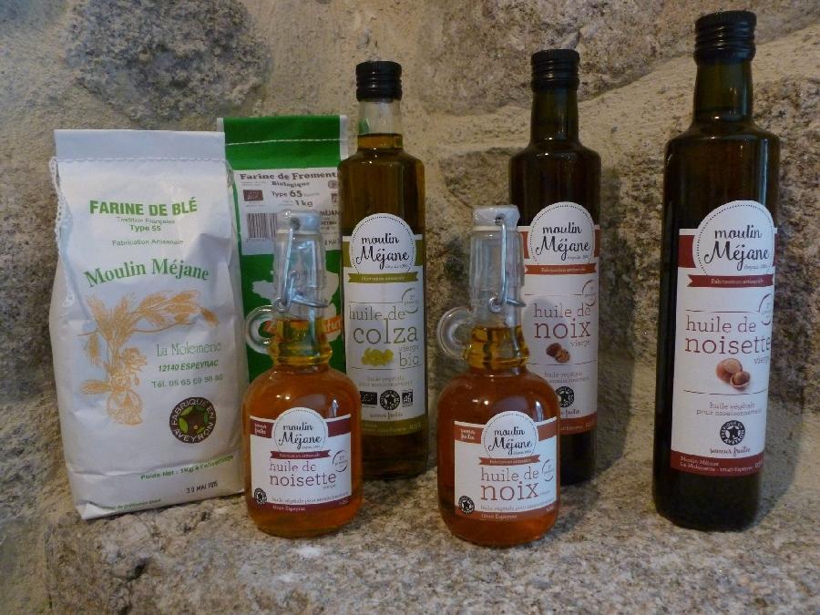 huile de noix ou huile de noisette